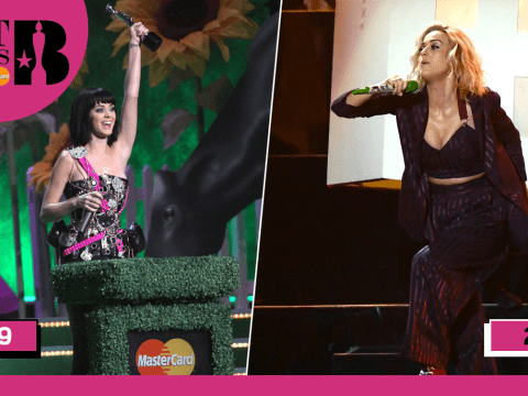 Katy Perry says a 'tragic' case of the flu almost ruined her Brits 2009 appearance