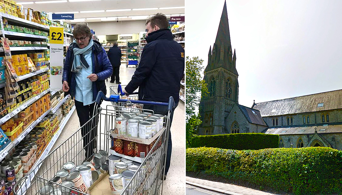 Tesco stops men purchasing £200 worth of food for the homeless