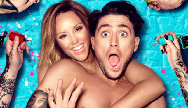 Charlotte Crosby and Stephen Bear present Just Tattoo Of Us (Picture: MTV)