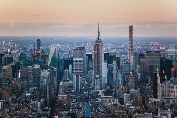 View from One World Observatory, Lower Manhattan, Manhattan (Picture: NYC & Company)