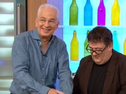 Sunday Brunch viewers disgusted as guest David Gower licks his fingers after handling raw chicken