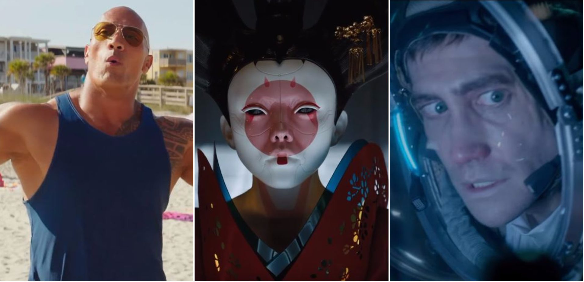 Are these the exciting new movie trailers being shown during the Super Bowl?
