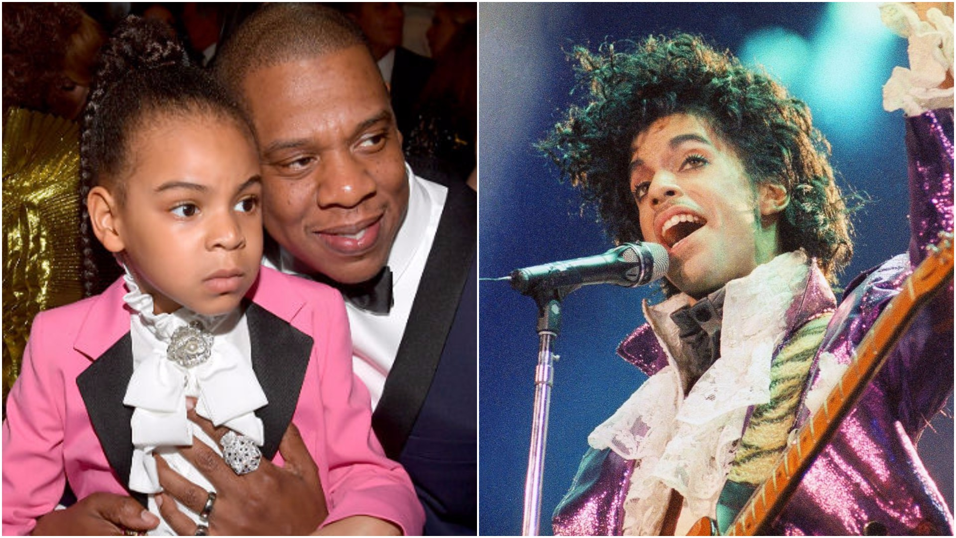 Blue Ivy came to the Grammys as Prince and the internet went wild