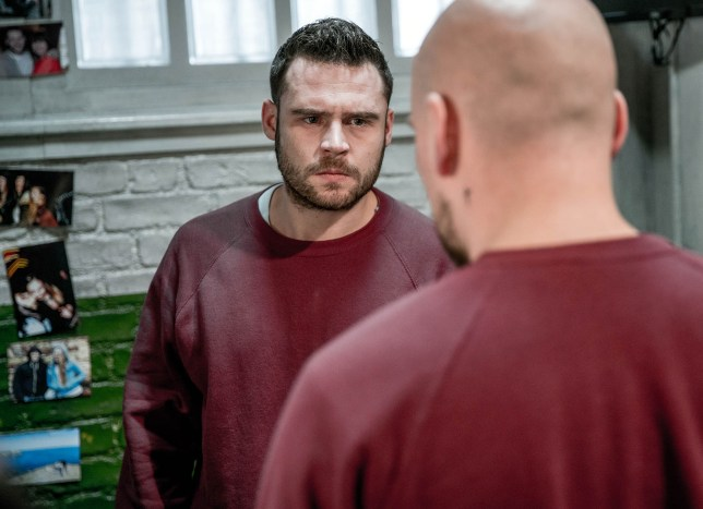 FROM ITV  STRICT EMBARGO -  Print media - No Use Before Tuesday 21st February 2017 Online Media -  No Use Before 0700hrs Tuesday 21st February 2017 Emmerdale - Ep 7764 Friday 3rd March 2017 When the top dog in prison learns Aaron Dingle in a manner which alters the visual appearance of the person photographed deemed detrimental or inappropriate by ITV plc Picture Desk. This photograph must not be syndicated to any other company, publication or website, or permanently archived, without the express written permission of ITV Plc Picture Desk. Full Terms and conditions are available on the website www.itvpictures.com