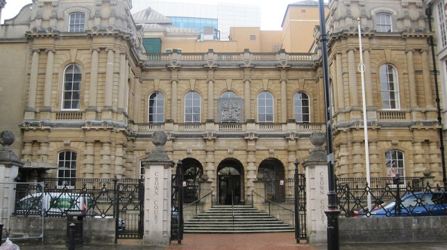 A general view of Reading Crown Court, Reading. Credit: PA