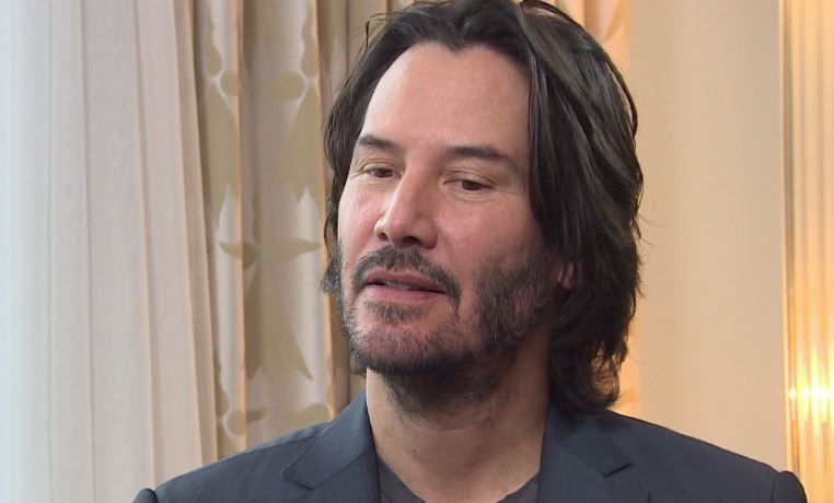 Keanu Reeves has been given a surprise lesson in speaking the Essex lingo (Picture: ITV)