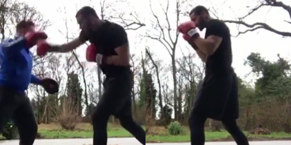 Rio Ferdinand calls out David Haye in latest boxing video mimicking Conor McGregor