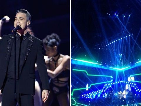 Robbie Williams gave surprise extra performance at The Brit Awards that the cameras didn't get to see