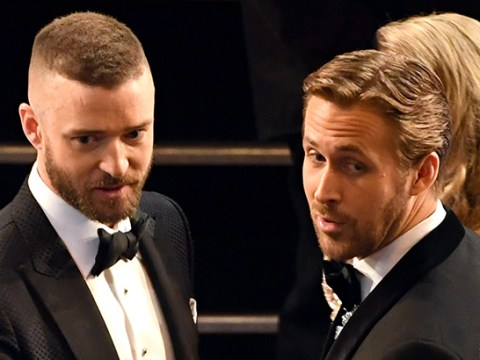 Ryan Gosling and Justin Timberlake's Mickey Mouse Club reunion at the Oscars will make you miss the 90s