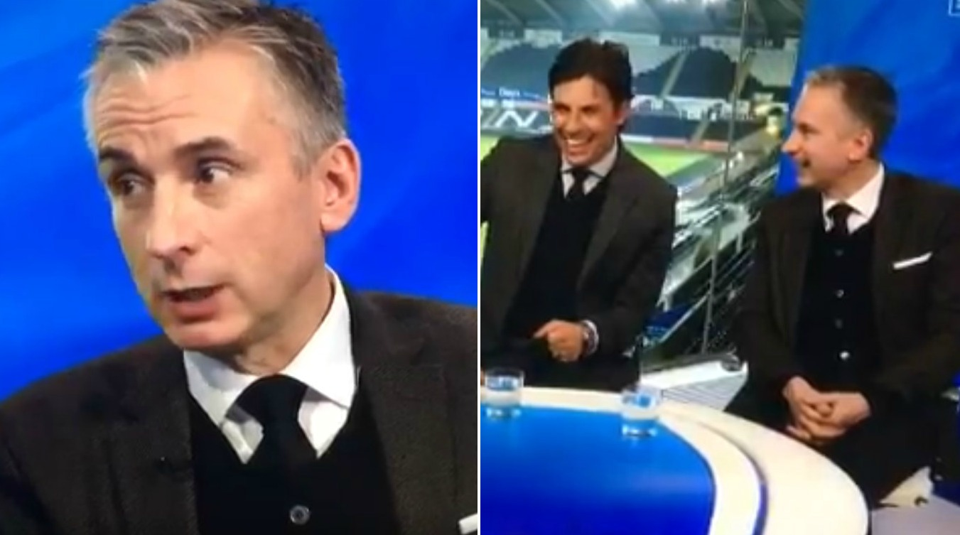 Did Arsenal legend Alan Smith accidentally call Chelsea a 'c***' on live television?