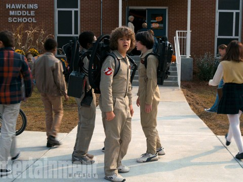 First look at Stranger Things teaser being revealed during Sunday's Super Bowl