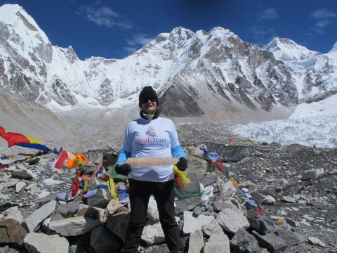 How my son's cleft palate led to me having fundraising adventures all over the world