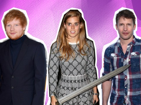 James Blunt confesses the story about Princess Beatrice cutting Ed Sheeran's face with a sword is TOTAL rubbish