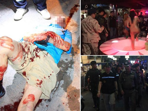 British tourist covered in blood after getting in fight with transgender prostitute