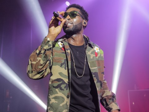 Tinie Tempah makes playful return to the stage at Shepherd's Bush Empire for War Child Brits Week