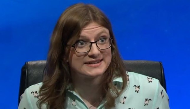 God bless you, Sophie Rudd (Picture: BBC)