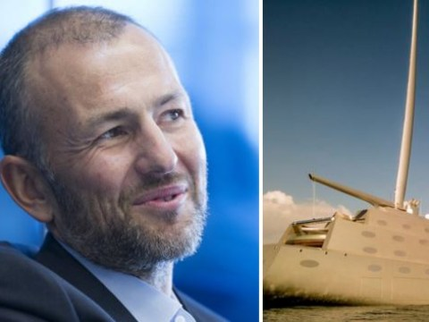 Oligarch's £360million superyacht impounded 'because he didn't fully pay for it'