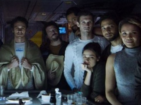 New pic of the crew from Alien: Covenant begs the question: 'Since when did hipsters fight aliens?'