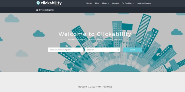 (Picture: Clickability) 'TripAdvisor' for disabled people website