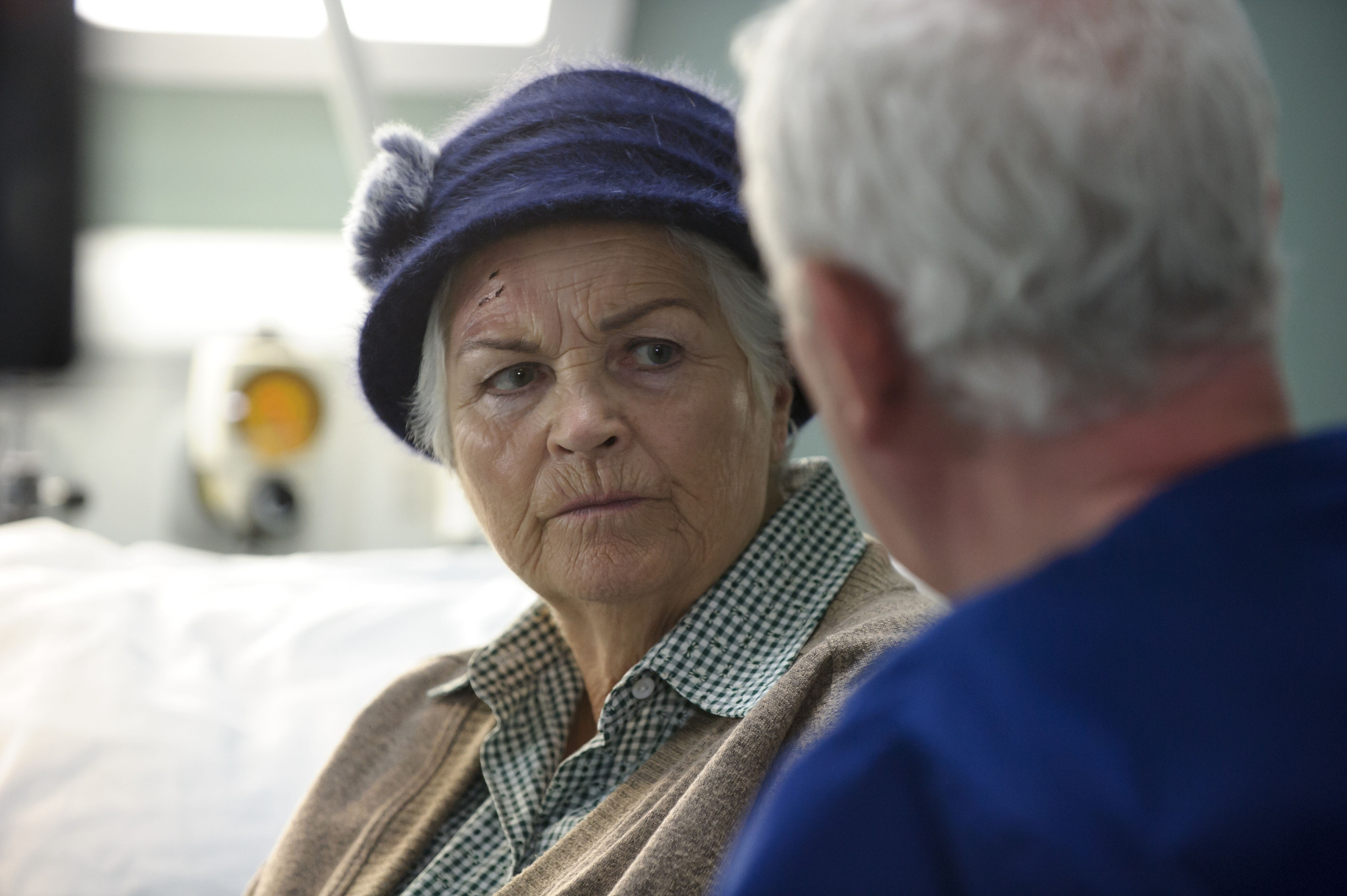 Casualty spoilers: First look as Pam St Clement's character Sally returns – after causing an explosive death?
