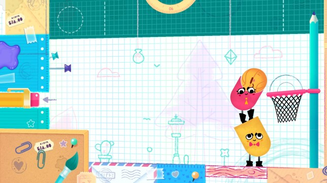 Snipperclips (Switch) - a cut above