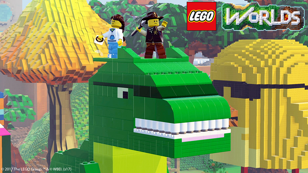 Lego Worlds (PS4) - should Minecraft be worried?