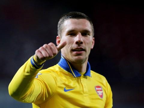 Arsenal send classy message to Lukas Podolski ahead of Germany v England