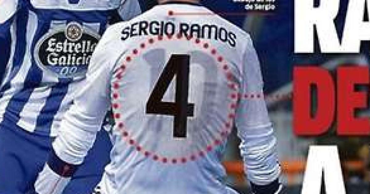 the best attitude d4491 80a1e Arsenal news: Mesut Ozil shirt worn by Sergio Ramos under ...
