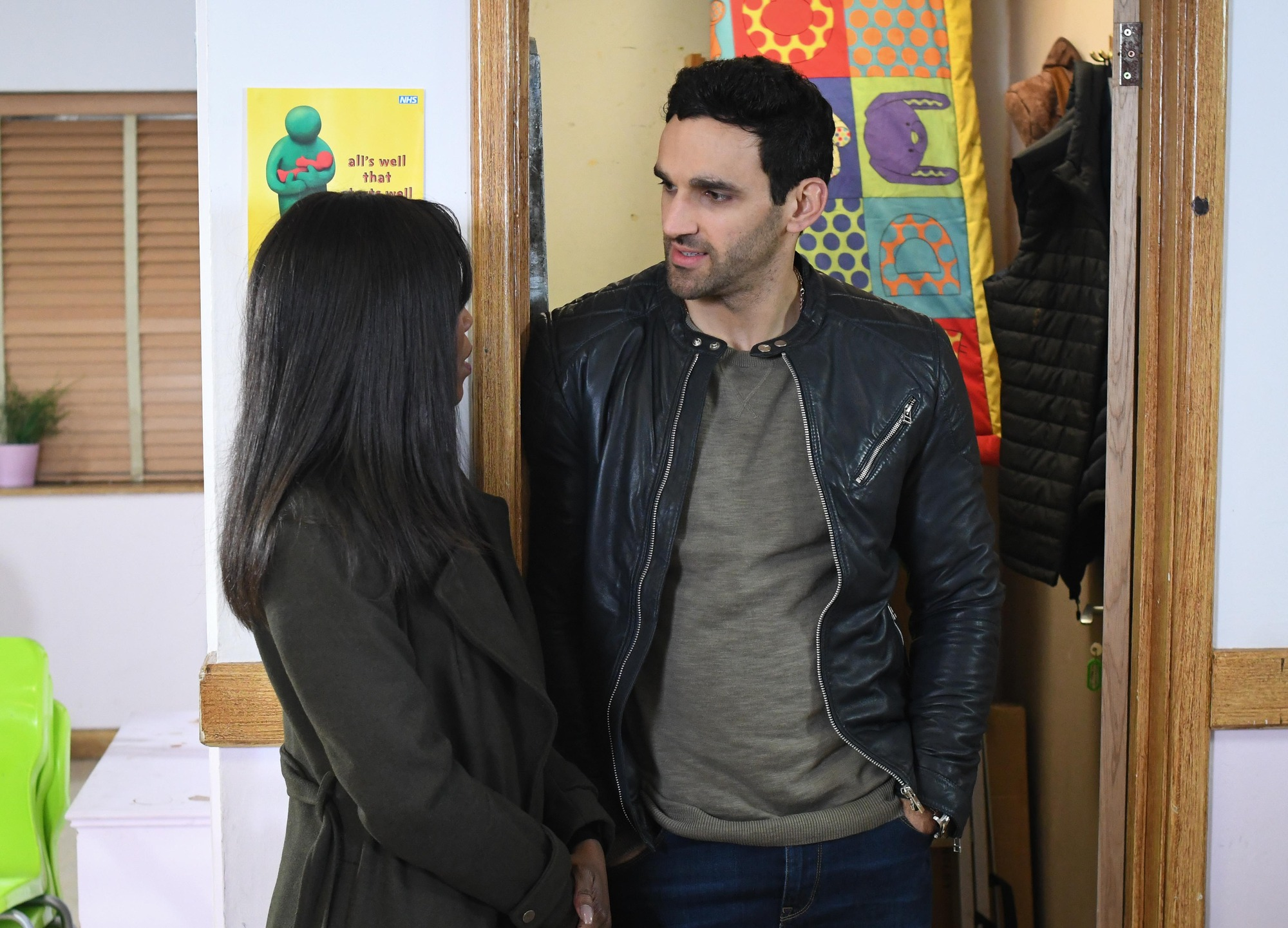 EastEnders spoilers: Denise Fox and Kush Kazemi finally decide whether to be together
