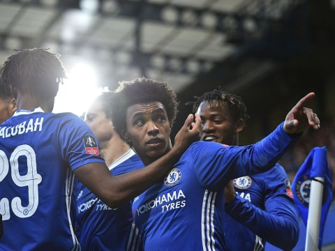 Eden Hazard shows off Chelsea team-mate Willian's new haircut