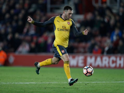 Arsenal dealt injury blow as Lucas Perez out for three weeks