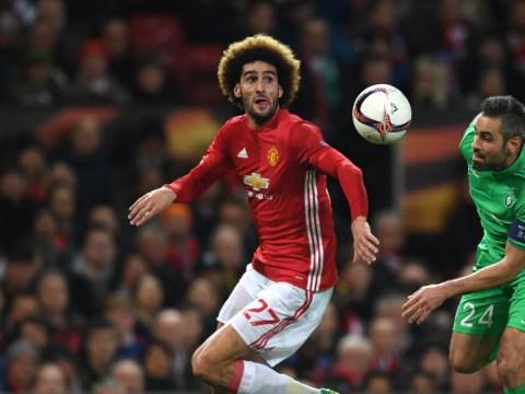 Manchester United's Marouane Fellaini slams Liverpool legend Jamie Carragher