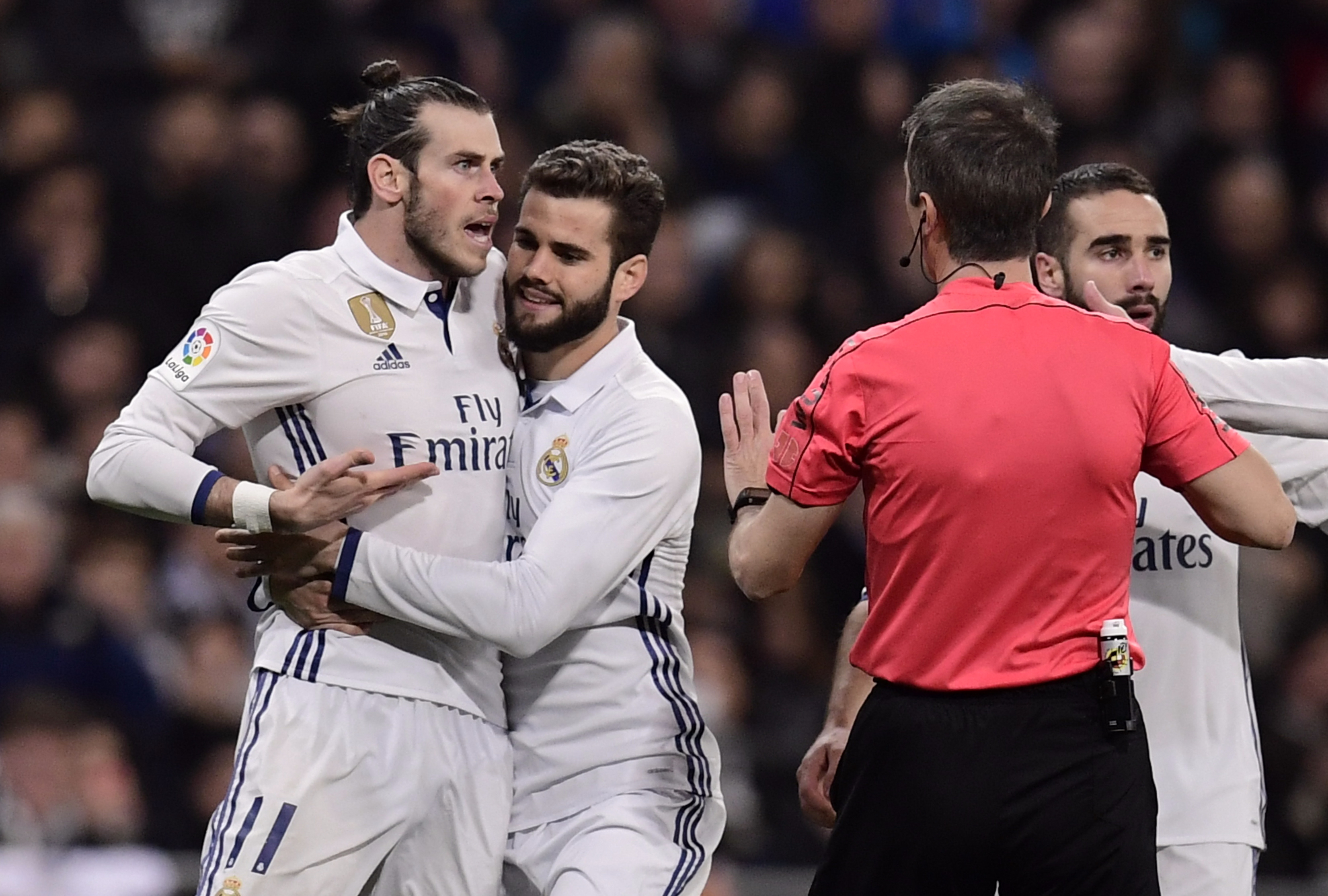 Gareth Bale sent off for violent conduct as Real Madrid drop points against Las Palmas
