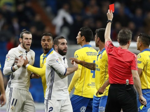 Real Madrid's Gareth Bale receives two match ban for moment of madness against Las Palmas