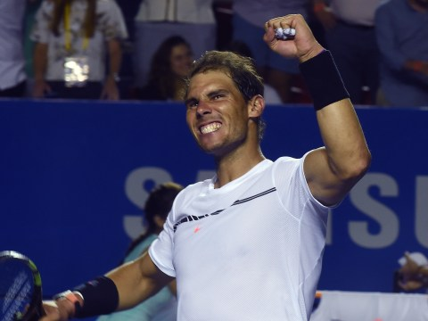 Rafael Nadal to take on Sam Querrey in Acapulco final as Marin Cilic and Nick Kyrgios crash out