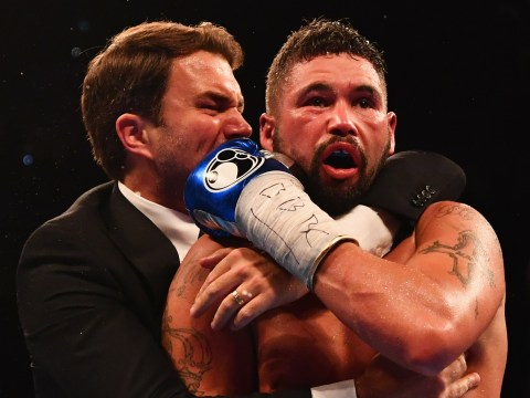Tony Bellew shrugged off ecstatic team to check on David Haye immediately after fight