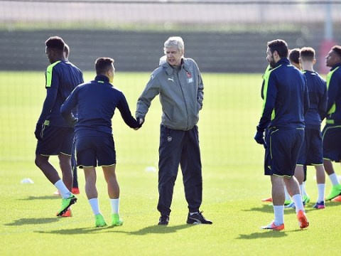 Arsene Wenger denies Theo Walcott's claims about arguments between Arsenal players