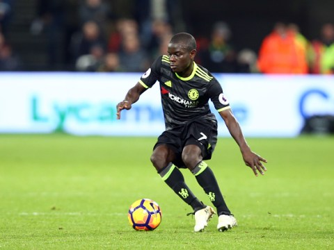 Two Arsenal players have made more interceptions than Chelsea midfielder N'Golo Kante