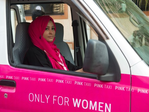 A women-only taxi service is being launched in Karachi to protect them against sexual harassment