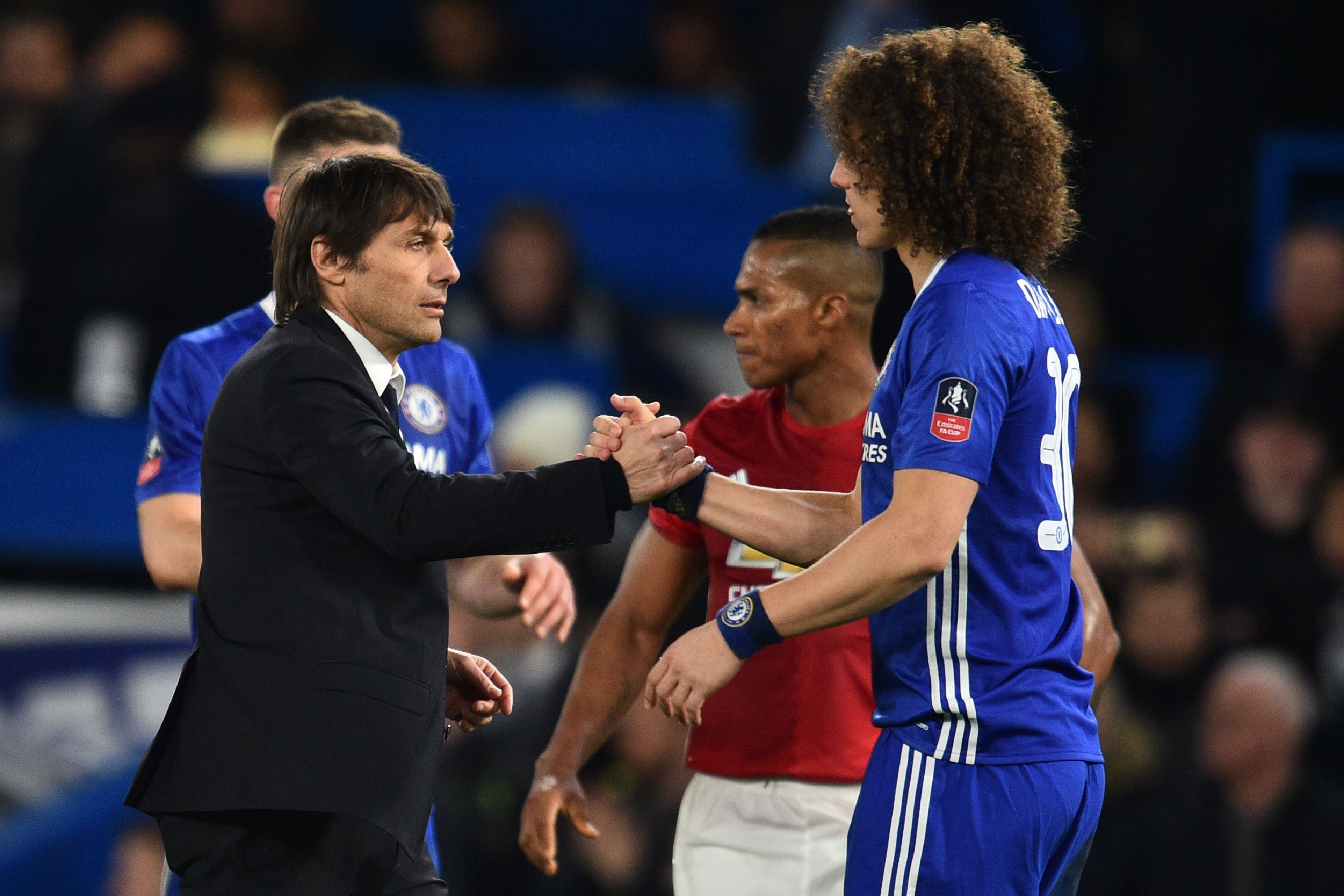 Antonio Conte called on Chelsea stars to maintain focus after FA Cup win over Manchester United, says David Luiz
