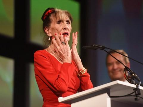 EastEnders stars joke that they will go on strike if June Brown doesn't get a BAFTA