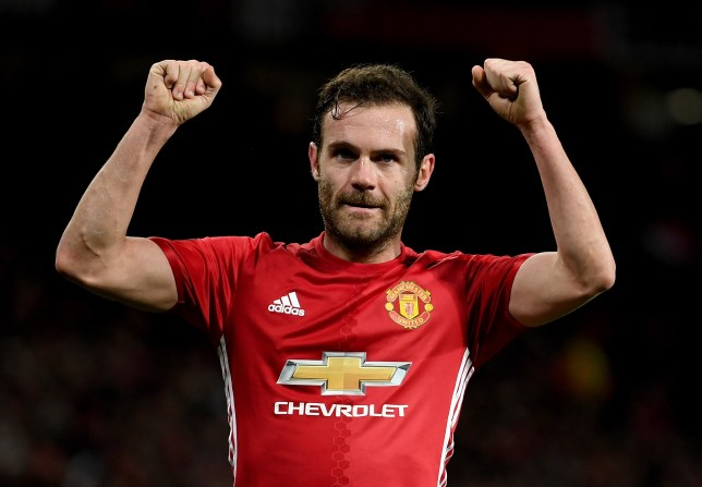 22a268e184a Jose Mourinho explains special reason why Juan Mata starts ahead of Anthony  Martial and Jesse Lingard for Europa League final