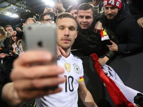 Mesut Ozil sends classy message to Lukas Podolski after former Arsenal star enters international retirement