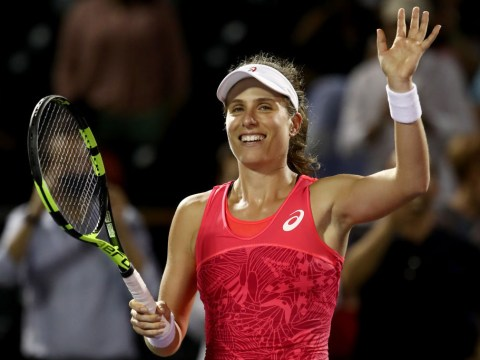 Johanna Konta becomes first British woman to reach Miami Open final after defeating Venus Williams