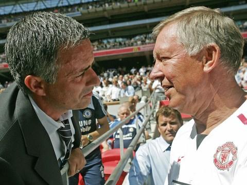 Jose Mourinho reveals dressing room chat with Sir Alex Ferguson