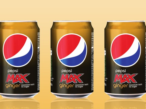 There is now a ginger flavoured Pepsi Max and we can't quite imagine it