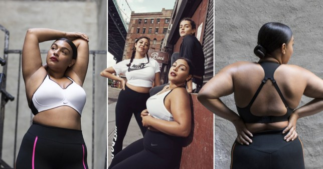 3c7014acfb Nike plus-size model too busy 'laughing all the way to the bank' to ...