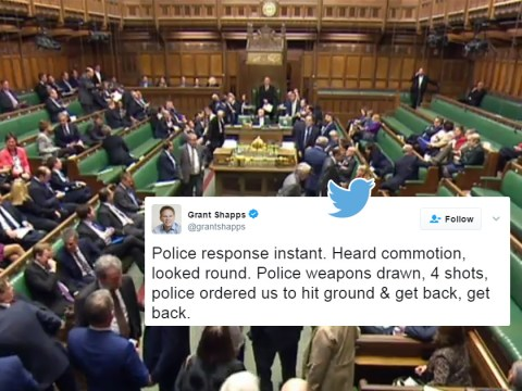'Police ordered us to hit the ground': MPs describe scenes following Parliament shooting