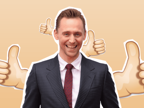 Tom Hiddleston reveals his most-used emoji giving his thumbs a good ol' workout