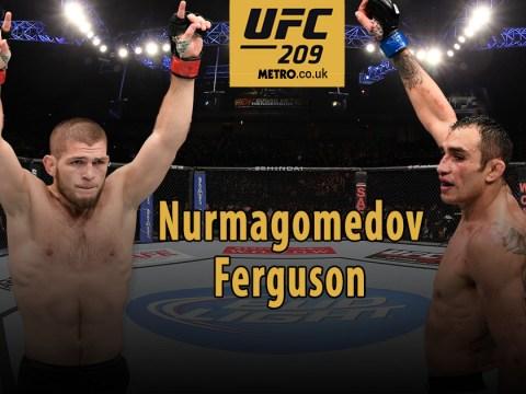UFC 209 Preview: Khabib Nurmagomedov and Tony Ferguson aim to put on greatest lightweight battle ever